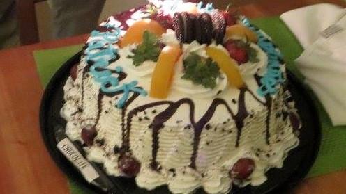 Panama.Playa Bonita.Birthday Cake